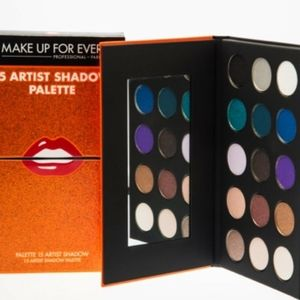 Makeup forever 15 artist eyeshadow palette